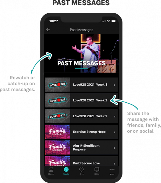 Mobile-Past-Messages